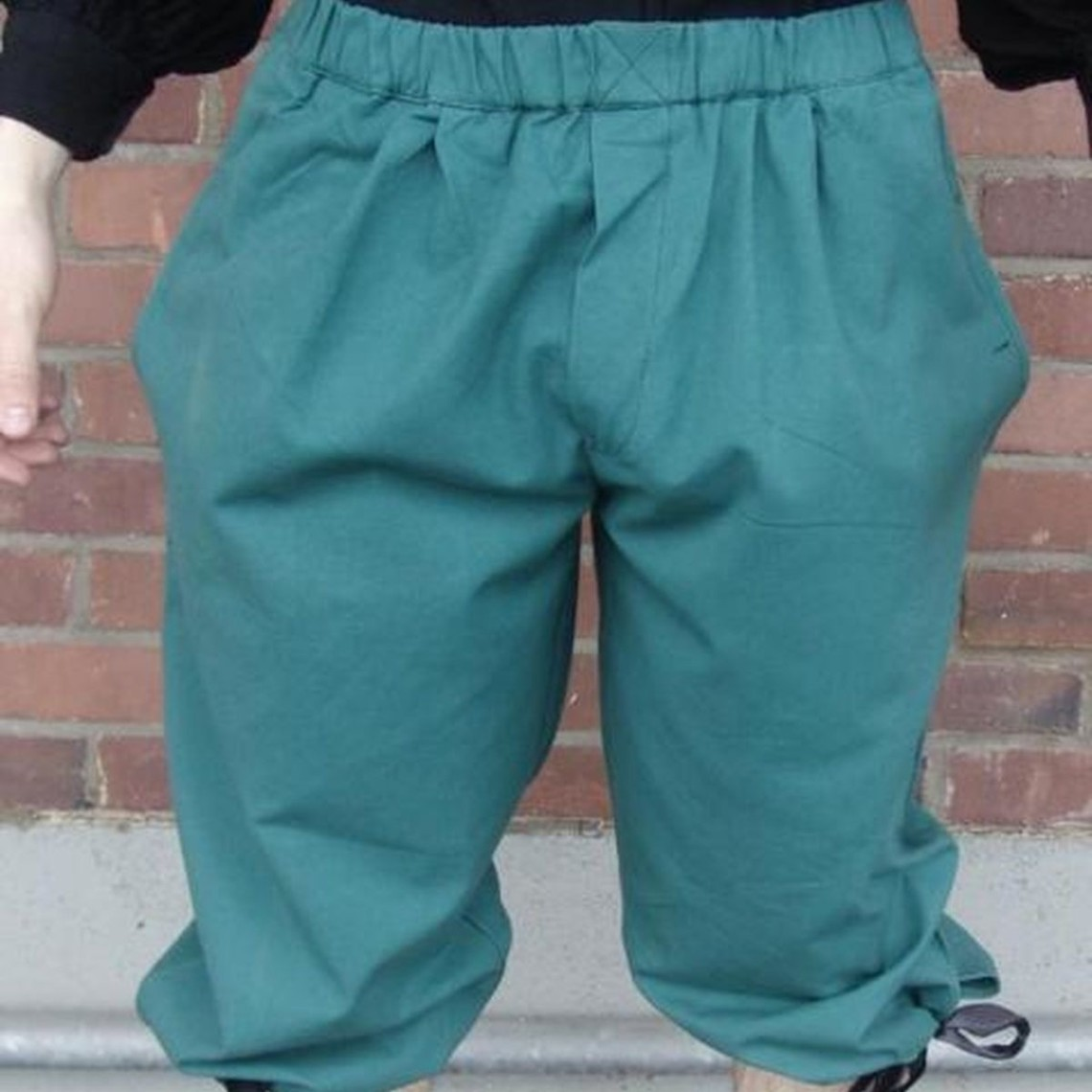 Leonardo Carbone Pantalones tres cuartos, verde