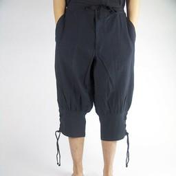 Pawia spodnie, czarny