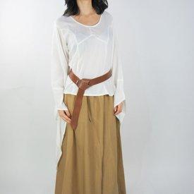 Skirt Inge, black-honey brown