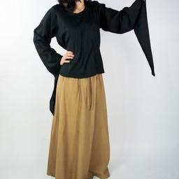 Spódnica Inge, czarno-brązowy miód