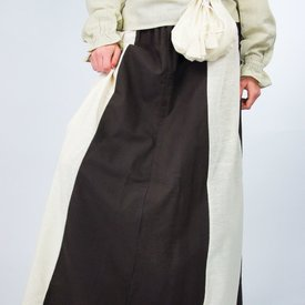 Leonardo Carbone Skirt Inge, dark brown-cream