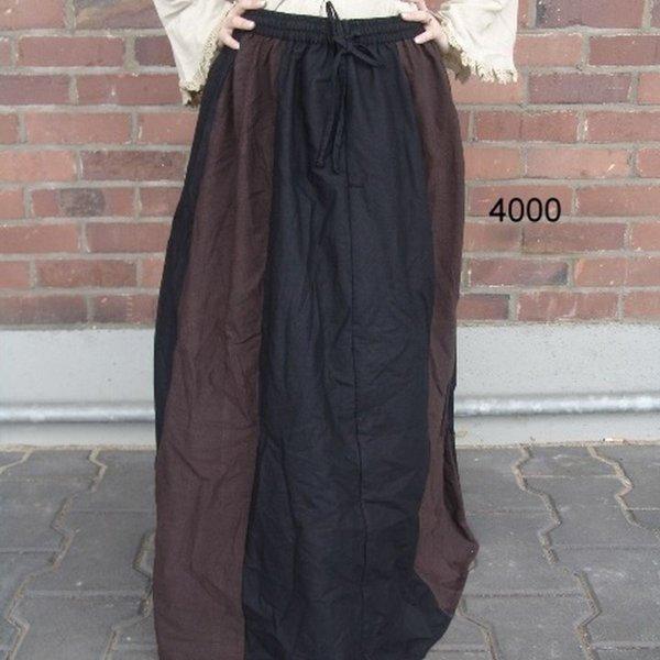 Leonardo Carbone Spódnica Inge, ciemno brązowo-czarny
