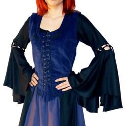 Skirt Inge, black-blue