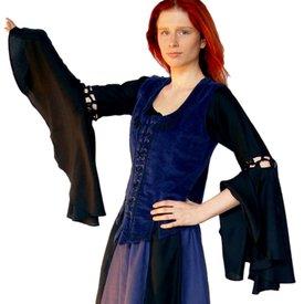 Leonardo Carbone Skirt Inge, black-blue