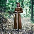 Leonardo Carbone Robe médiévale Emma, noisette