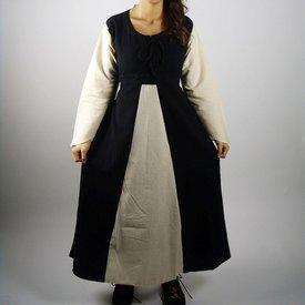 Kleid Marigold, schwarz-creme
