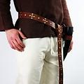 Leonardo Carbone Cinturón viking Snorre, marrón