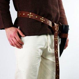 Leonardo Carbone Cintura vichinga Snorre, marrone