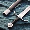 Windlass Steelcrafts Batalla de espada medieval lista con vaina de cuero