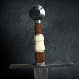 Windlass Middeleeuws zwaard tweehandig met schede