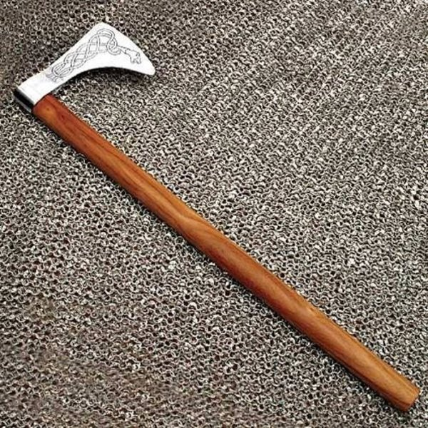 Windlass Steelcrafts Axe Viking dragen Yggdrasil