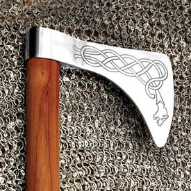 Windlass Axe Viking dragon Yggdrasil