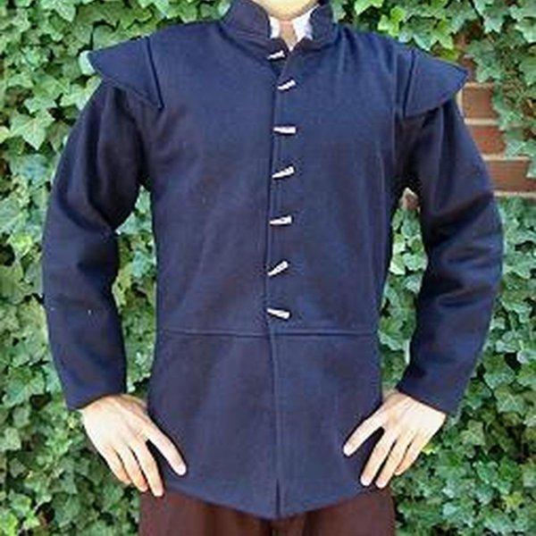 16th century doublet, blue