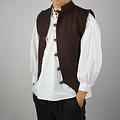 Leonardo Carbone 17 wieku żeglarz kamizelka, brązowy