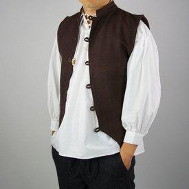 Leonardo Carbone 17th century sailor vest, brown