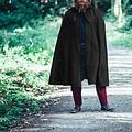 Leonardo Carbone Cloak Milisant, black