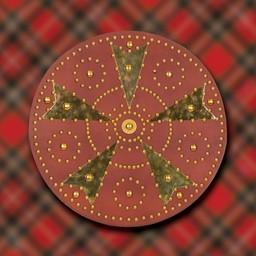 Schotse Highland targe