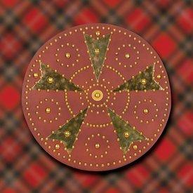 Windlass targe Highland écossais