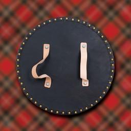 Schotse Highland targe met Keltisch kruis