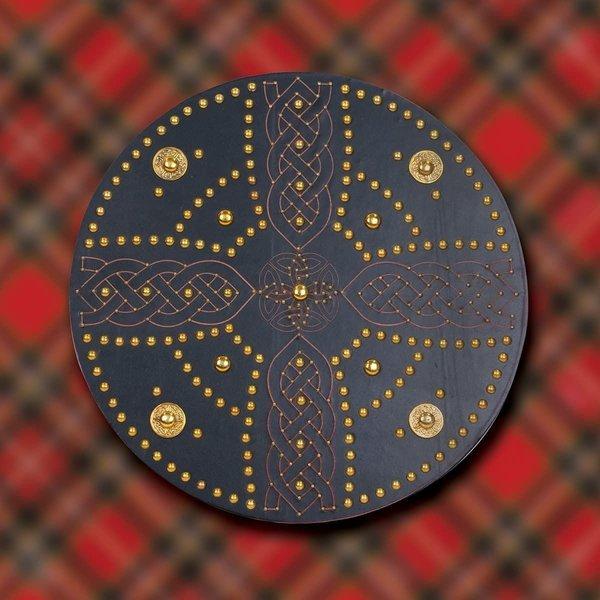 Windlass Schotse Highland targe met Keltisch kruis