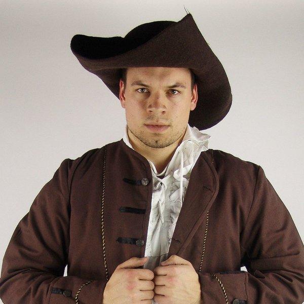 17th århundrade hatt Randell, brun