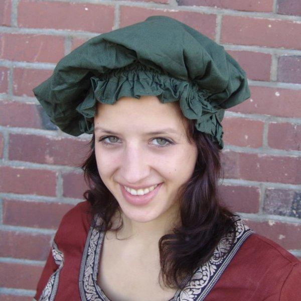 17. Jahrhundert Kappe, grün