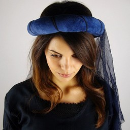 Garland for ladies, blue