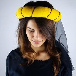Garland for ladies, yellow-black