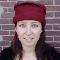 Leonardo Carbone Filt hat, rød