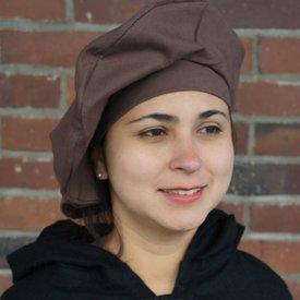 Leonardo Carbone Katoenen baret, bruin