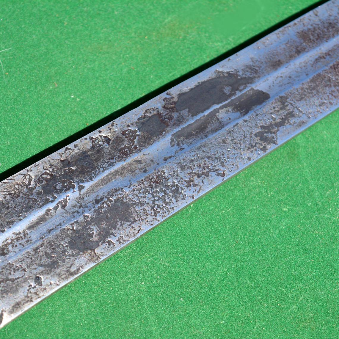 Espada medieval de entrenamiento