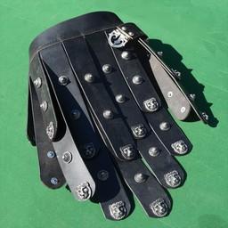 Greek leather apron belt