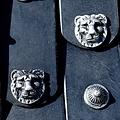 Deepeeka Ceinture tablier grecque , en cuir