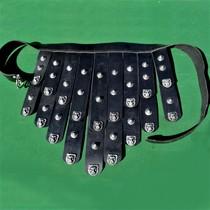 Deepeeka Græsk læder forklæde bælte