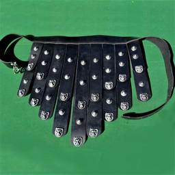 Cinturón delantal griego en cuero