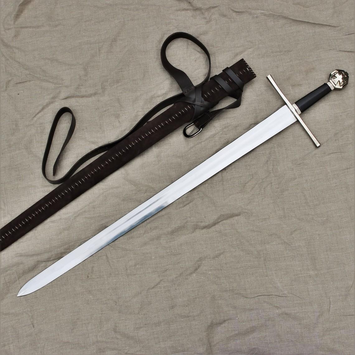 Windlass Steelcrafts Espada de caballero medieval Tancredo de Galilea