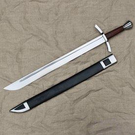 Windlass Steelcrafts Medievale falchion inglese con fodero