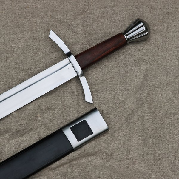 Windlass Steelcrafts Medieval engelsk falchion med skede