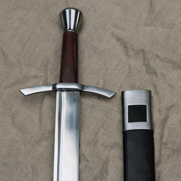 Windlass Medievale falchion inglese con fodero