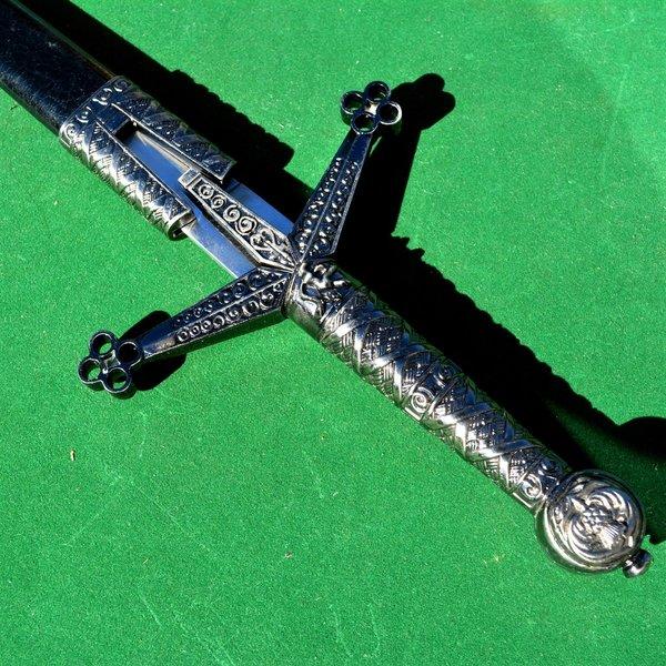 Kort sværd med honeycomb motiv