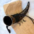 Windlass Steelcrafts Corne à boire Gorm avec support en cuir