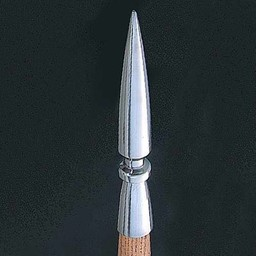 Butt cap for Greek spear