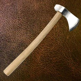 Windlass hache médiévale cavalier