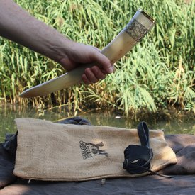 Windlass Drickshorn Freya med läderhållare