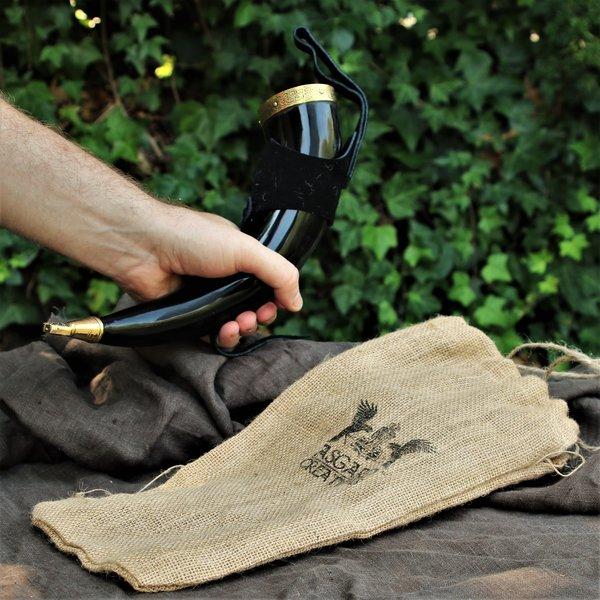 Windlass Corne à boire Rollo avec support en cuir