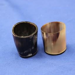 Conjunto de gafas de tiro 2 de cuerno