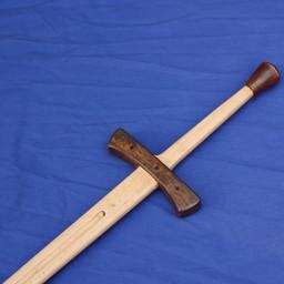Drewniany miecz treningowy, dwuręczne