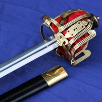 Windlass Culloden Claymore Scottish basket-hilt sword