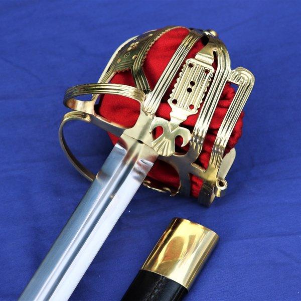 Windlass Steelcrafts Culloden Claymore skotsk basket-fæstet sværd