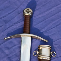 Średniowieczny miecz rycerz maltański Hospitallers